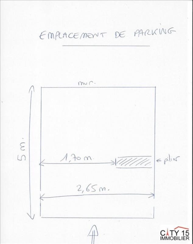 Verkauf parkplatz/box Paris 15ème 20000€ - Fotografie 4