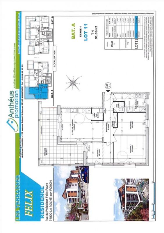Sale apartment La roche-sur-foron 243500€ - Picture 2