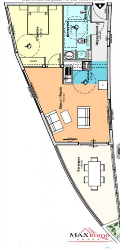 Vente appartement St denis 213000€ - Photo 1
