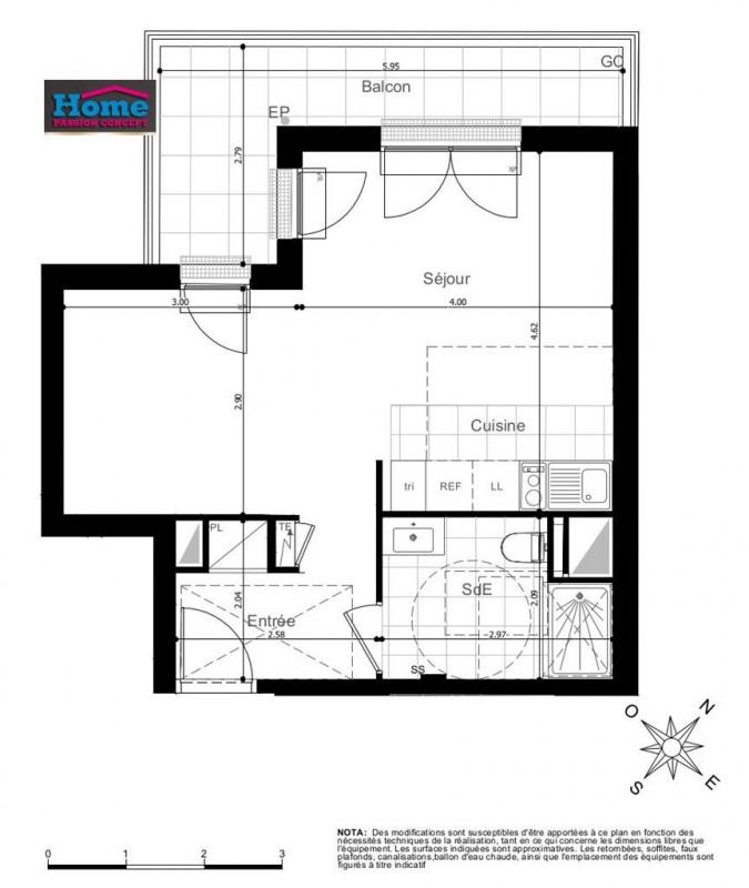 Vente appartement Rueil malmaison 312000€ - Photo 1