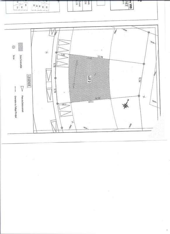 Sale site Jard sur mer 86600€ - Picture 1