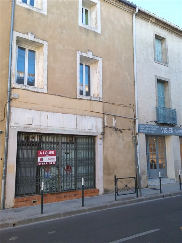 Rental empty room/storage Lunel 590€ HT/HC - Picture 2