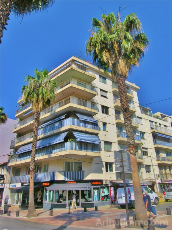 Rental apartment Antibes 740€ CC - Picture 1
