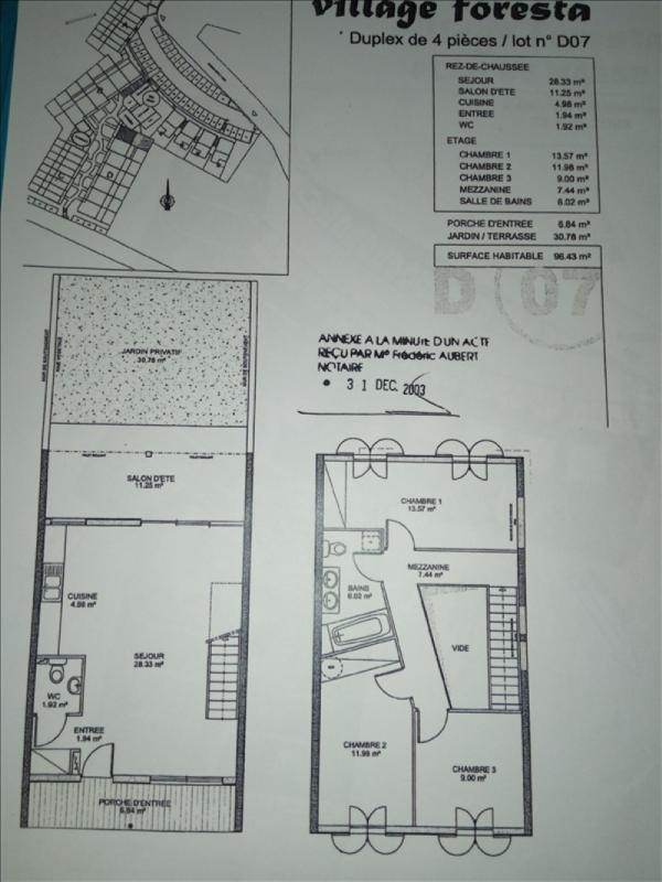 Producto de inversión  apartamento Le piton saint 178200€ - Fotografía 1