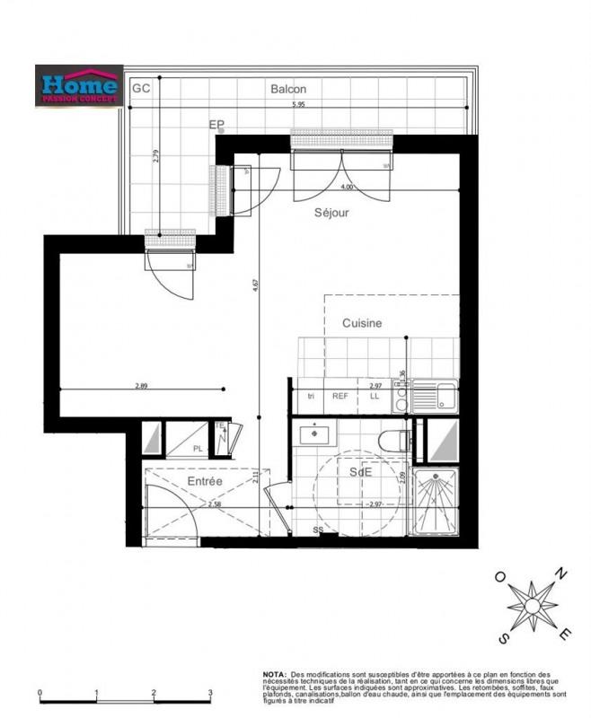 Sale apartment Rueil malmaison 306000€ - Picture 2
