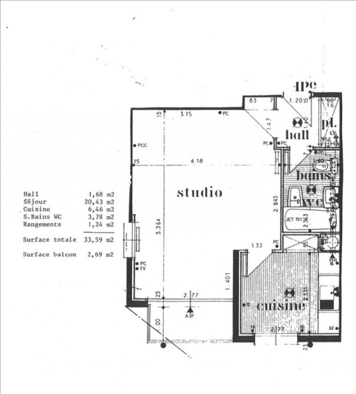 Vente appartement Les pavillons sous bois 93000€ - Photo 2