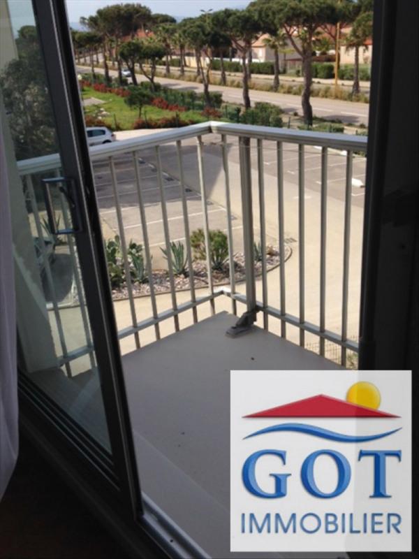 Locação apartamento Le barcares 480€ CC - Fotografia 1