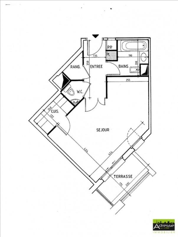Vente appartement Levallois perret 175000€ - Photo 1