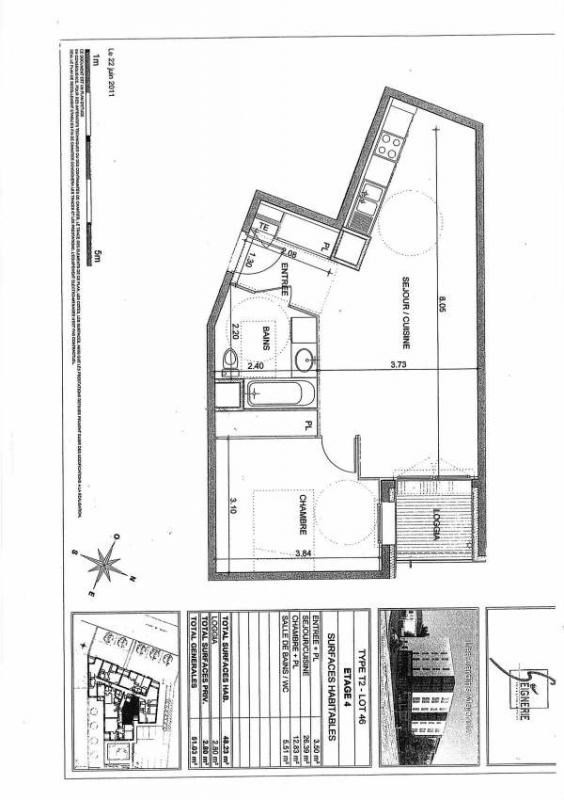 Affitto appartamento Venissieux 666€ CC - Fotografia 6