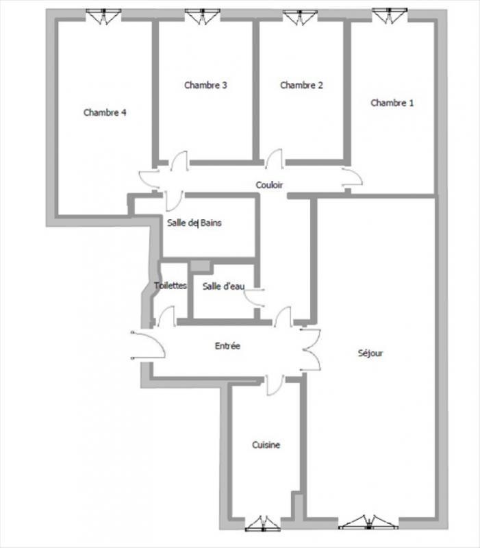 Deluxe sale apartment Paris 15ème 1196000€ - Picture 1