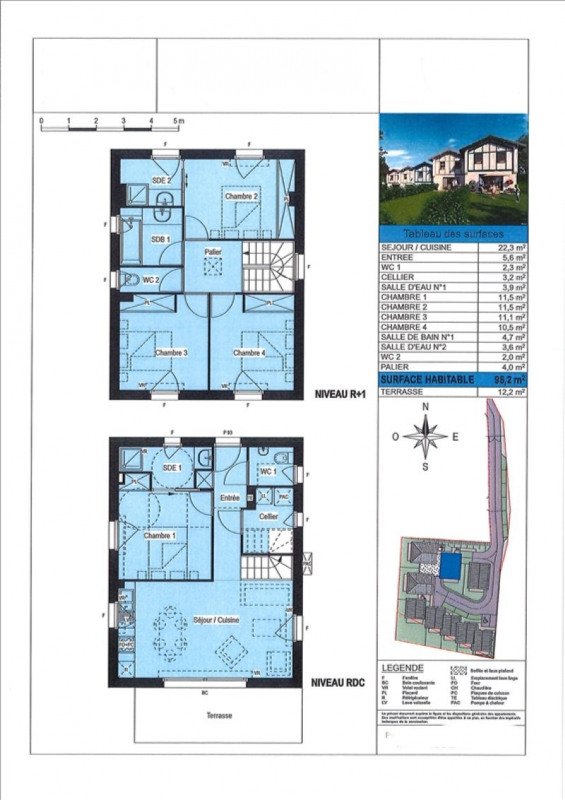 Vente maison / villa Boucau 328000€ - Photo 2
