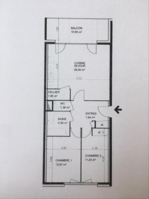 Location appartement Viry 920€ CC - Photo 2