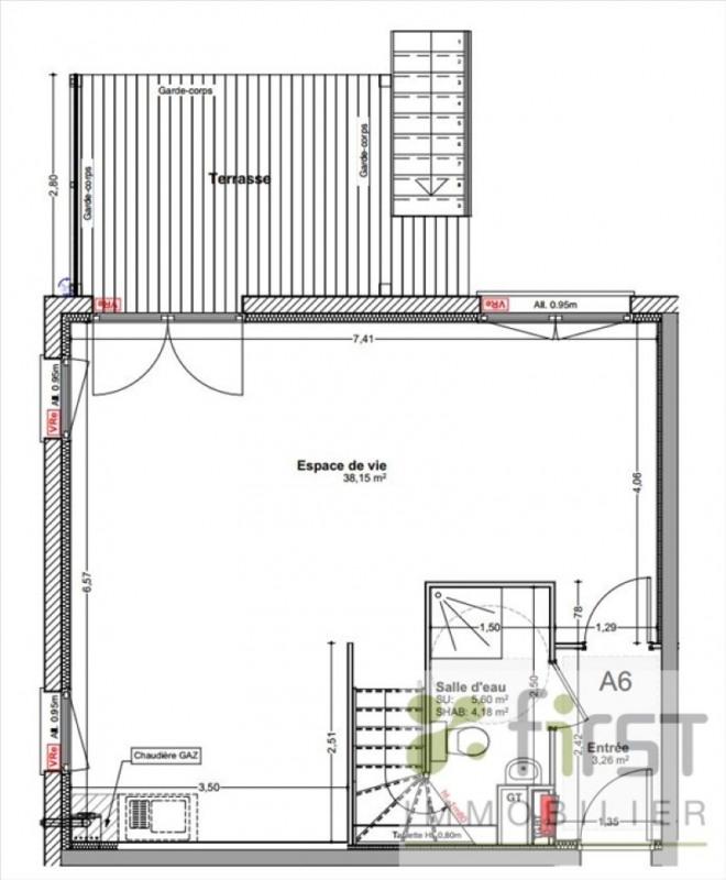 Vente maison / villa Reignier-esery 347500€ - Photo 5