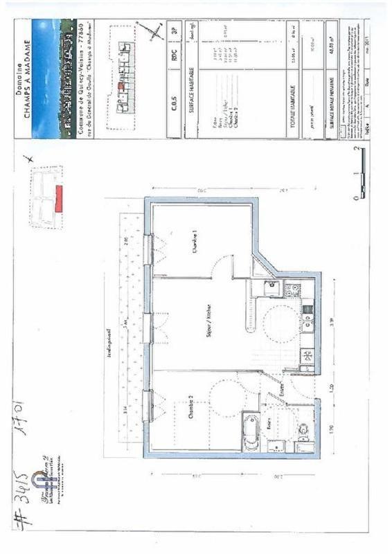 Vente appartement Quincy voisins 223000€ - Photo 1