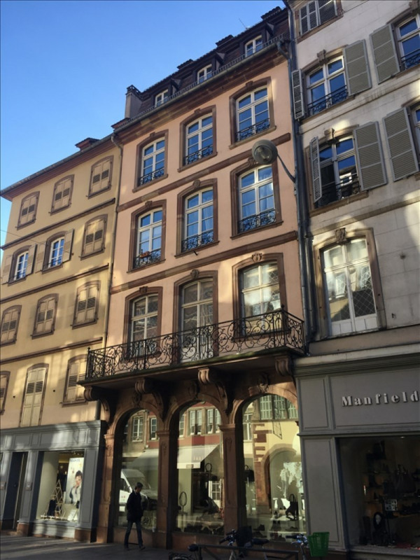 Rental apartment Strasbourg 714€ CC - Picture 1