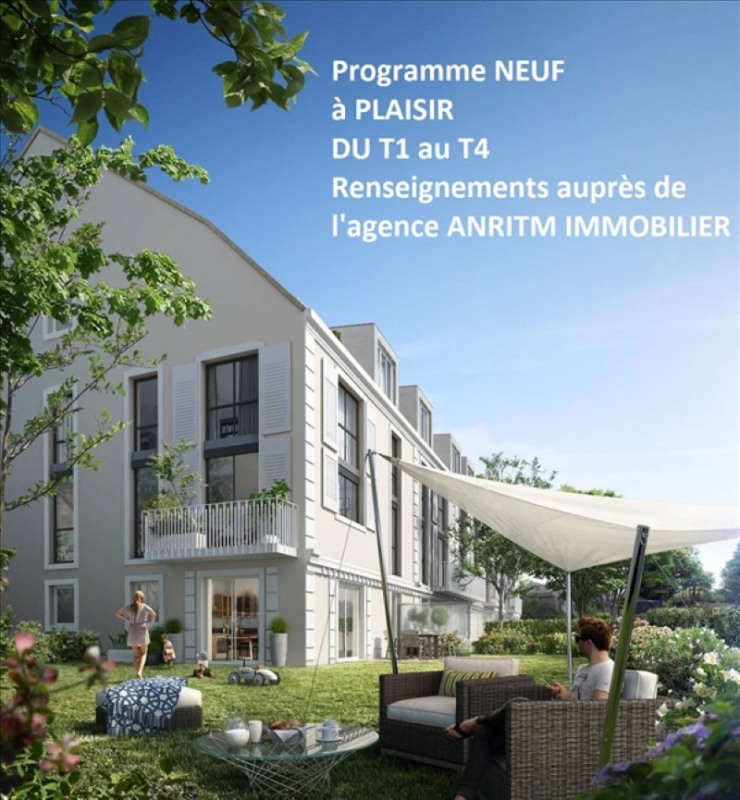 Produit d'investissement appartement Plaisir 168000€ - Photo 1
