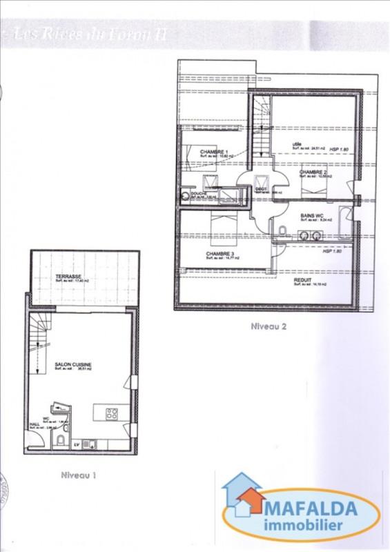Sale apartment Amancy 346000€ - Picture 2