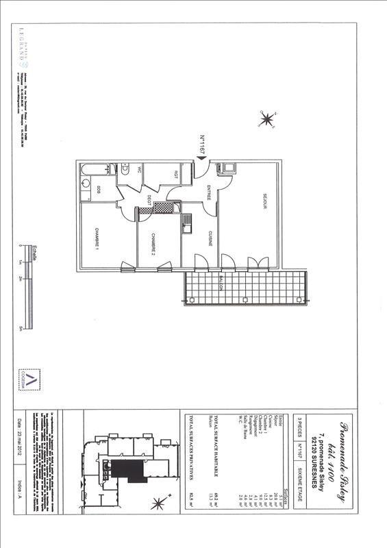 Verhuren  appartement Suresnes 1664€ CC - Foto 1