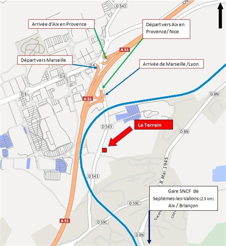 Location terrain plan de campagne terrain commercial for Comboutiques plan de campagne
