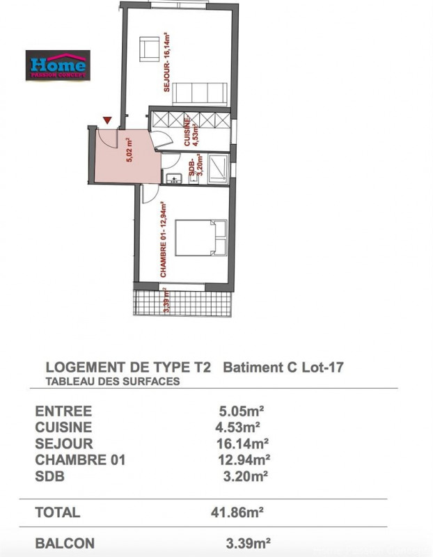 Vente appartement Rueil malmaison 217 775€ - Photo 3