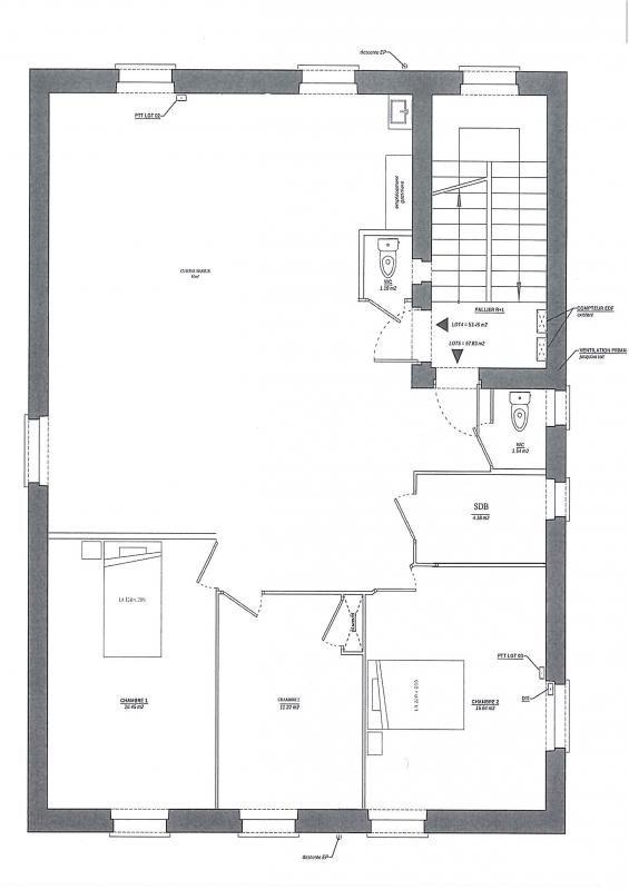 Sale apartment Decines charpieu 230000€ - Picture 1