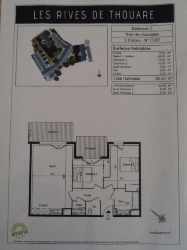 Location appartement Thouare sur loire 750€ CC - Photo 8