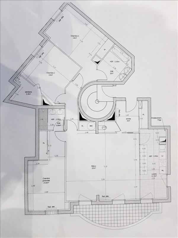 Rental apartment Issy les moulineaux 3200€ CC - Picture 2
