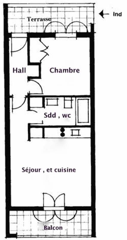 Sale apartment Seillans 127000€ - Picture 4