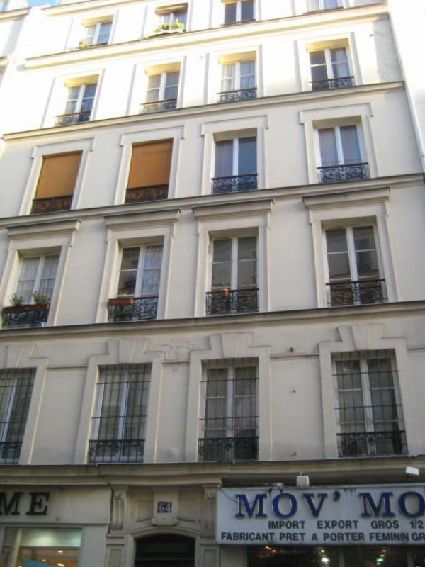 Rental apartment Paris 11ème 1115€ CC - Picture 1