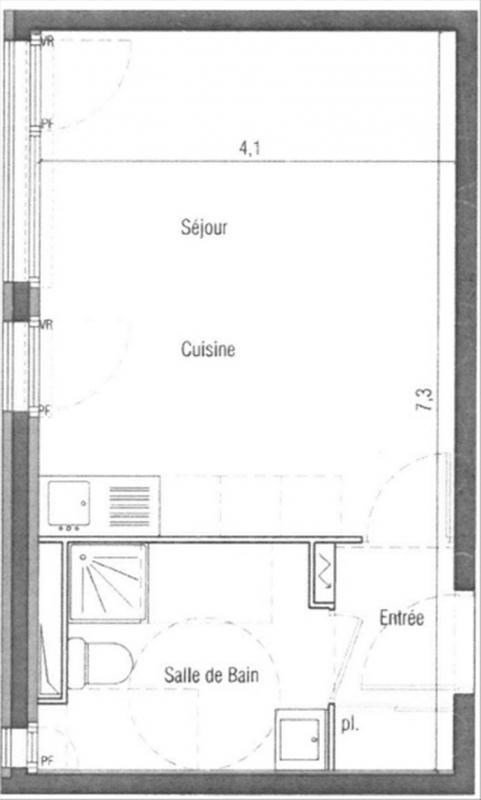 Location appartement Les ulis 630€ CC - Photo 1