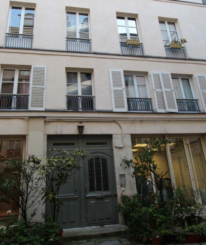 Rental apartment Paris 3ème 460€ CC - Picture 1