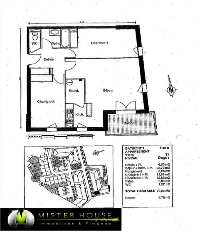Verhuren  appartement Montauban 580€cc - Foto 2