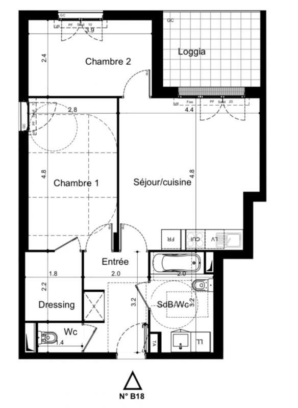 Vente appartement Plaisir 238000€ - Photo 1