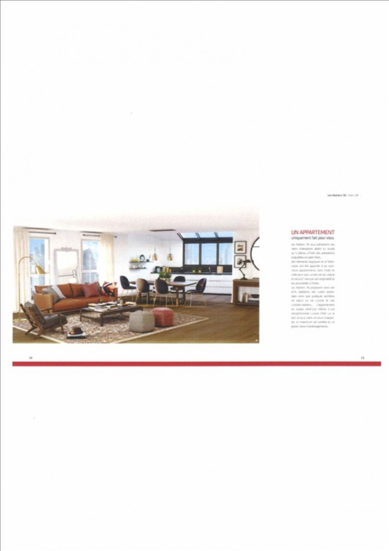 Produit d'investissement appartement Paris 18ème 435000€ - Photo 2