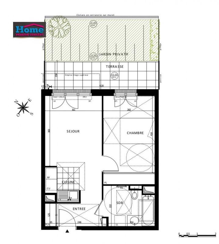 Vente appartement Rueil malmaison 348000€ - Photo 5