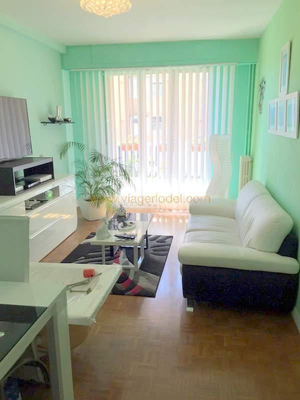 Vendita nell' vitalizio di vita appartamento Nice 77500€ - Fotografia 3