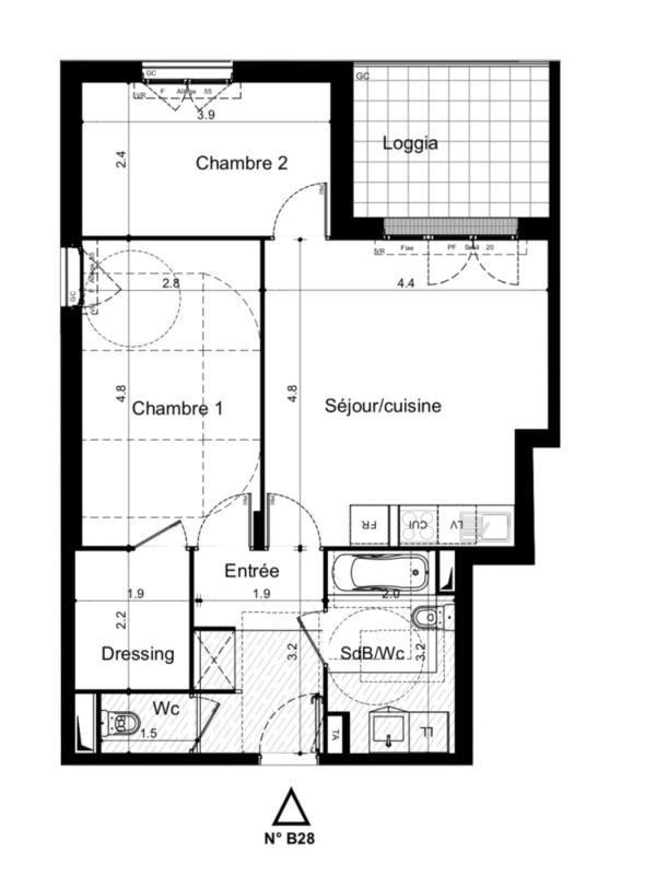 Sale apartment Plaisir 244000€ - Picture 1