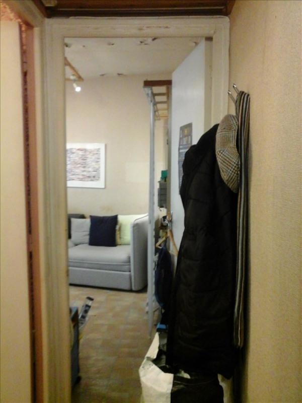 Sale apartment Paris 20ème 166000€ - Picture 1