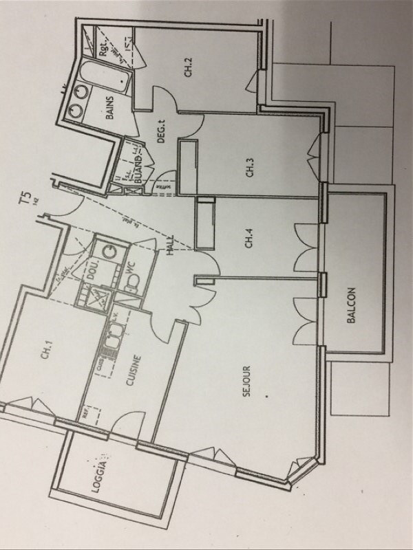 Revenda apartamento Villeurbanne 450000€ - Fotografia 8