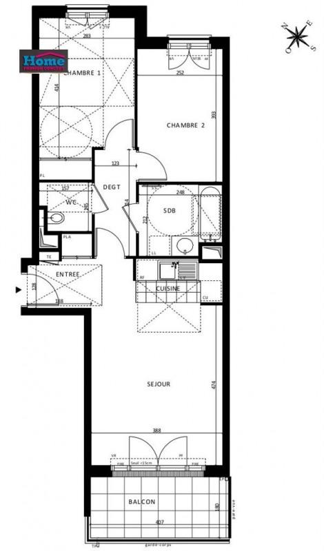 Sale apartment Rueil malmaison 471000€ - Picture 5