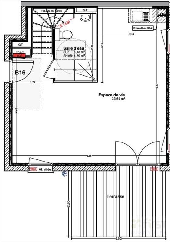 Sale house / villa Vetraz monthoux 313000€ - Picture 2