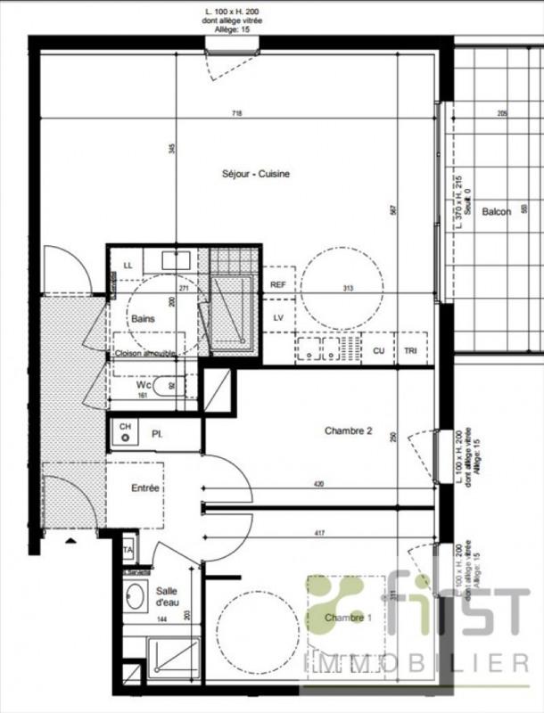 Venta  apartamento Vetraz monthoux 417000€ - Fotografía 2
