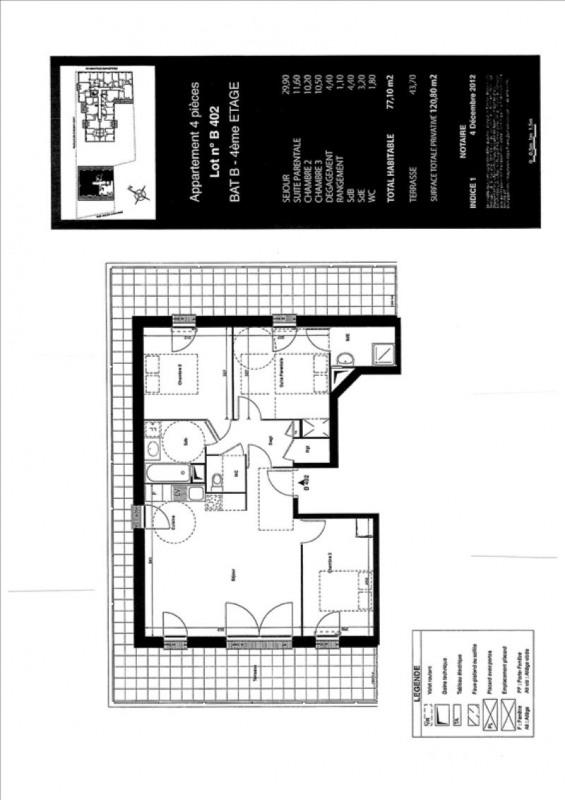 Verkoop  appartement Vitry sur seine 420000€ - Foto 5