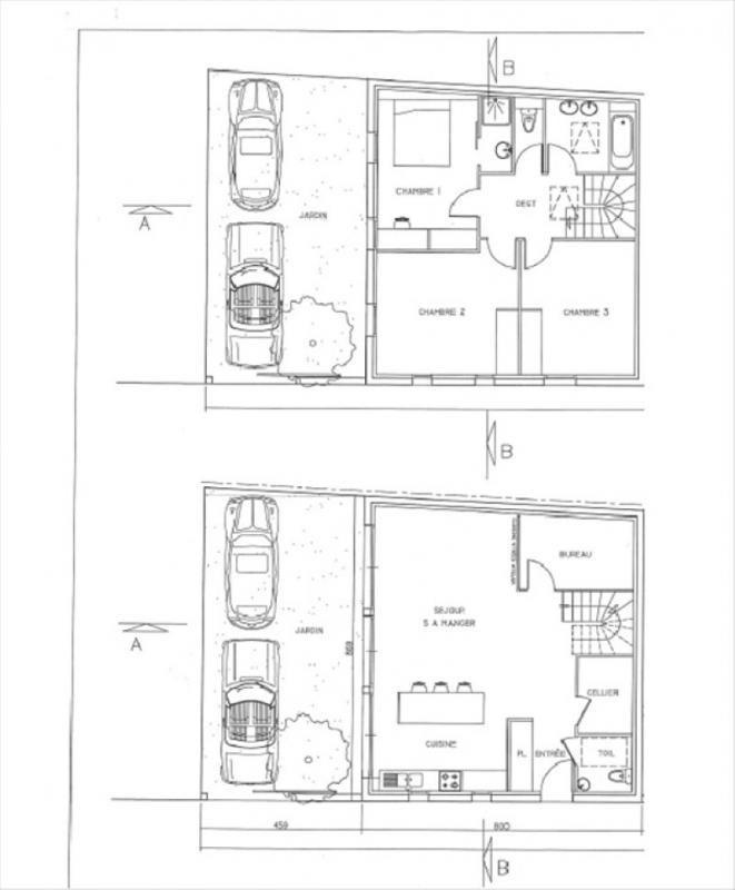Vente de prestige maison / villa Bordeaux 559680€ - Photo 1