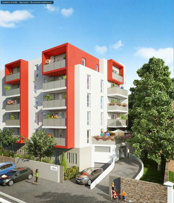 Coeur fabrettes programme immobilier neuf marseille 15 me for Appartement atypique 15eme