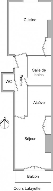 Location appartement Lyon 6ème 875€ CC - Photo 9