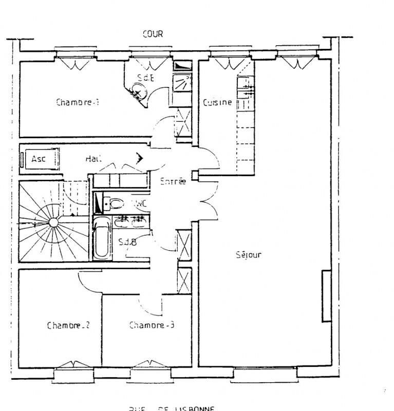 Rental apartment Paris 8ème 3565€ CC - Picture 1