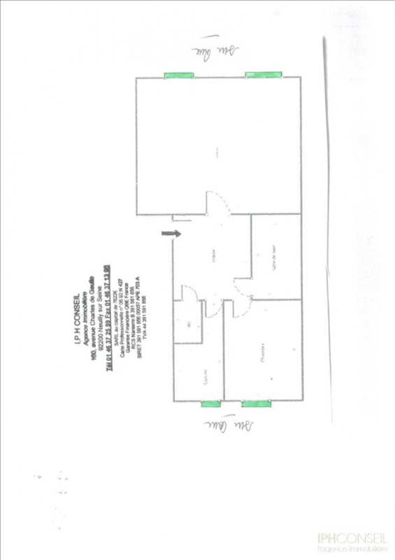 Vente local commercial Neuilly sur seine 365000€ - Photo 2