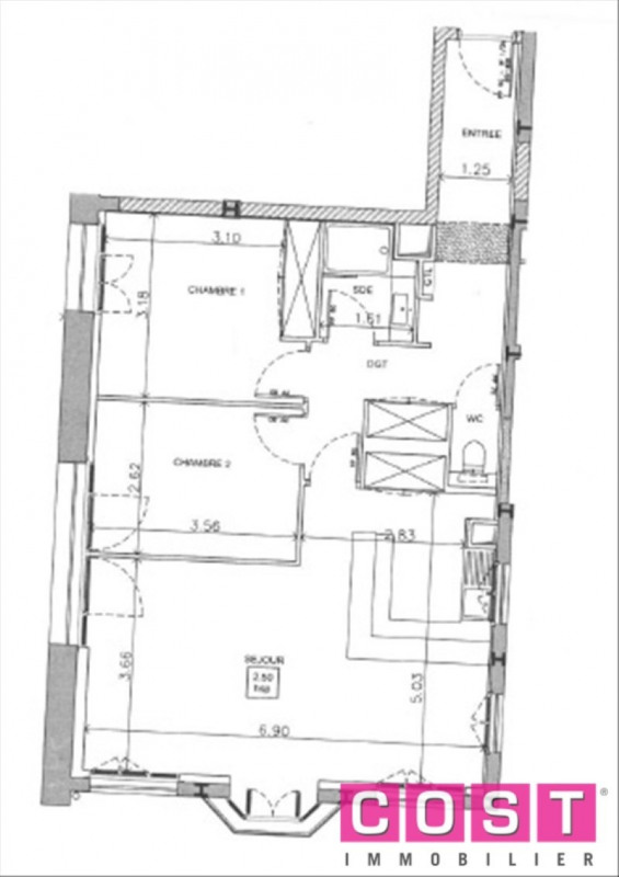 Verkoop  appartement Asnieres sur seine 693000€ - Foto 2