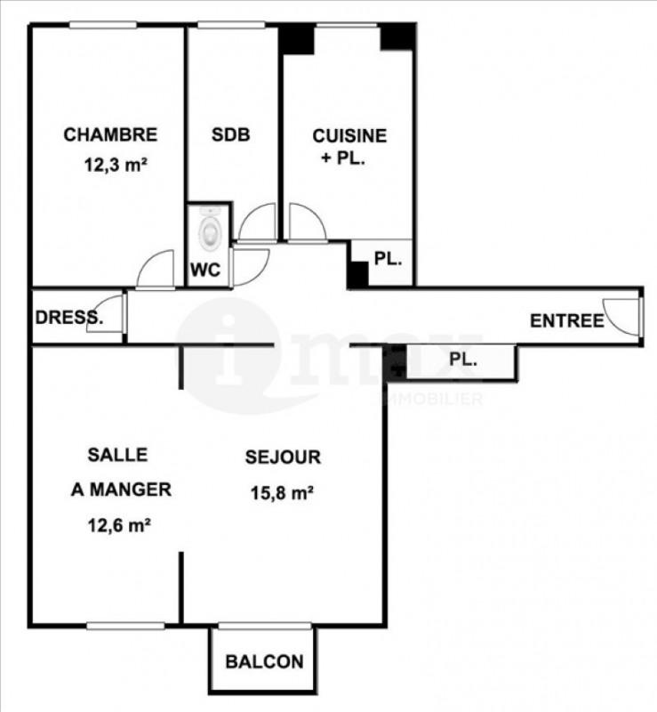 Vente appartement Courbevoie 430000€ - Photo 4